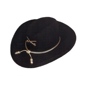 Civil War Custom Cowboy Hat Gold Bullet Hatband