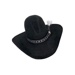 Tom Mix Custom Cowboy Hat Black Band