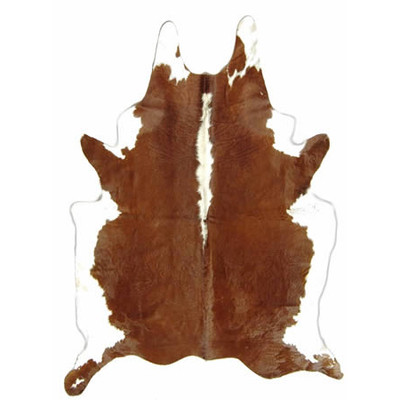 Natural Cowhide Rug - Assorted Off Colored Hides