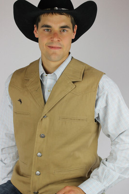 Wyoming Traders Bronco Canvas Vest - Men