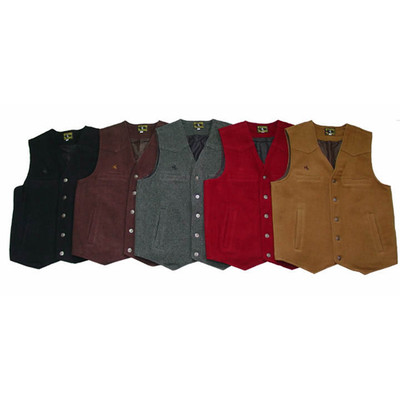 Wyoming Traders Vest (Wool) Rancher Men's