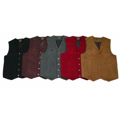 Wyoming  Men's Vest - 100% Wool