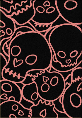 Head Banger - Pink - 5'x8'