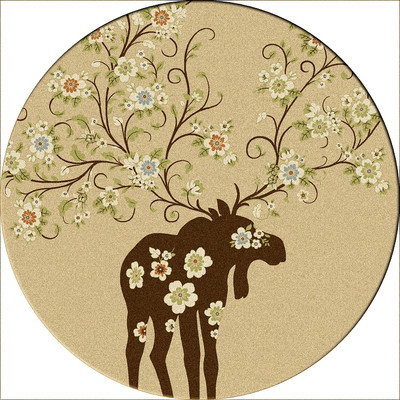 Moose Blossom - Natural - Round 8'