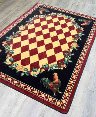 High Country Rooster - Red - Floor
