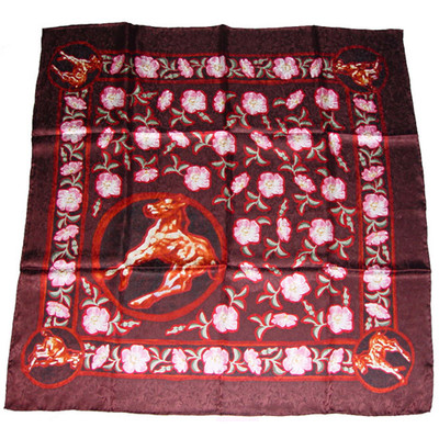 Wild Rag Silk Scarf Limited Edition Colts Roses