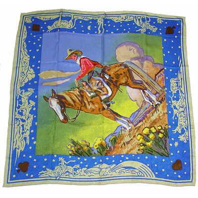 Wild Rag Silk Scarf Limited Edition Diamond Girl