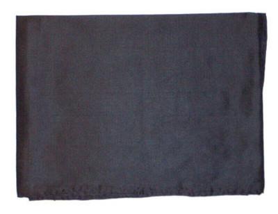 Wild Rag Silk Scarf 42 Inch Solid Black
