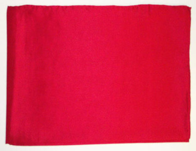 Wild Rag Silk Scarf 42 Inch Solid Red