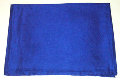 Wild Rag Silk Scarf 42 Inch Solid Royal