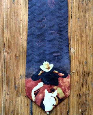 Piggin' String Silk Tie
