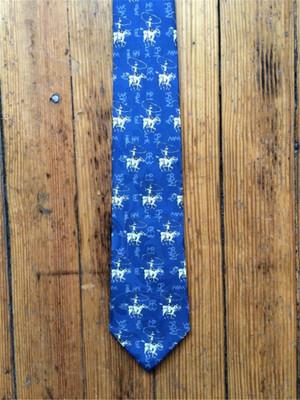 Roper & Brands Tie - Navy