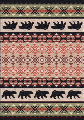 Cozy Bears Rug (Various Sizes)
