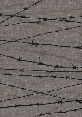 Barbed Wire - Gray