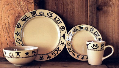 Branded Dinnerware (Set of 16)