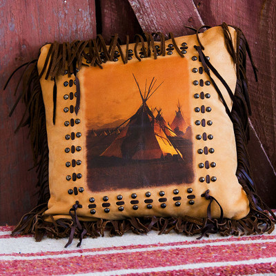 TeePee Village Pillow