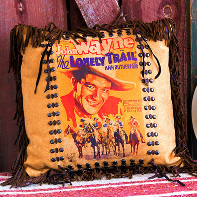 John Wayne Poster Pillow