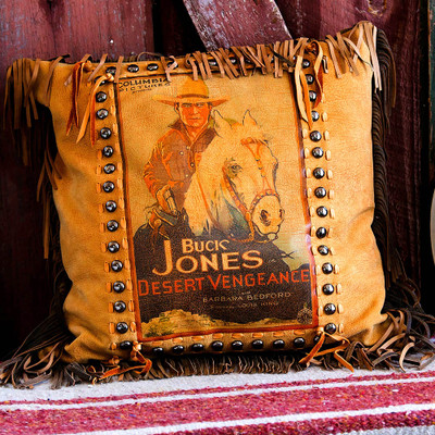 Buck Jones Poster Pillow
