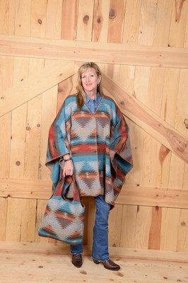 Sunrise Blanketstitch Cape