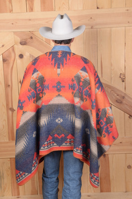Tonto Blanketstitch Cape