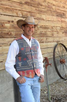 Demin Zuni Vest