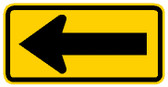 "48"" x 24"" black and yellow