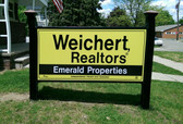 Reflective Real Estate Signs by Dornbos Sign & Safety