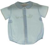 Newborn Boys Blue Bubble Outfit - Feltman Brothers