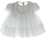 Newborn Girls White Take Home Dress Feltman Brothers