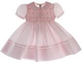 Girls Pink Portrait Dress