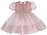 Girls Pink Portrait Dress