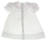 Newborn White Dress with Lace