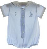 Infant Boys Blue Sailor Outfit