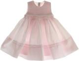 Girls Pink Sleeveless Portrait Dress Feltman Brothers