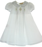 Baby Girls White Take Home Daygown