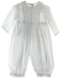 Infant  Boys Long Sleeve Christening Romper Feltman  Brothers