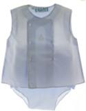 Baby Boys Blue Sailboat Diaper Set