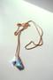 70cm Swarovski Crystal Long Ball Necklace Rose Gold from kellinsilver.com