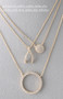 Swarovski Yellow Gold Wishbone Necklace Sterling Silver FROM KELLINSILVER.COM