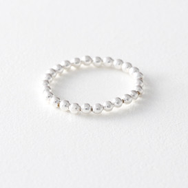 2mm Sterling Silver Ball Ring White Gold from kellinsilver.com
