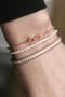 Rose Gold Horsebit Bracelet from kellinsilver.com