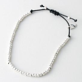 Sterling Silver Ball Macrame Bracelet from kellinsilver.com