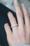 Perlee Pave Eternity Wedding Band Sterling Silver from kellinsilver.com