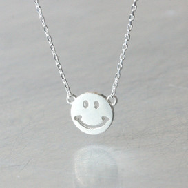 Sterling Silver Smile Necklace from kellinsilver.com
