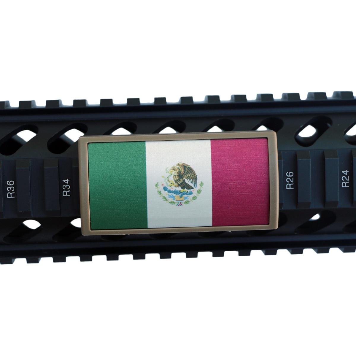 mexican flag rail cover mexico