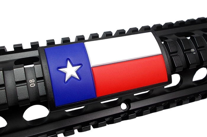 TEXAS FLAG COLOR- LGPVC