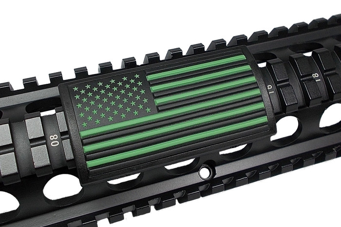 AMERICAN FLAG GREEN