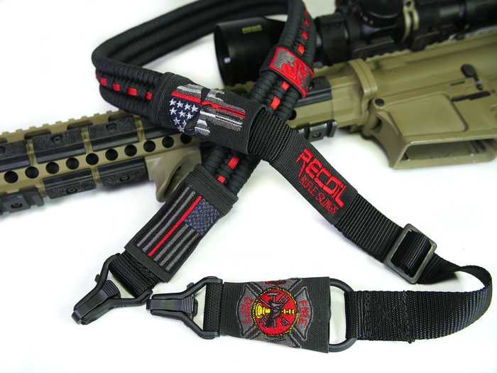 RED LINE PARACORD SLING - FIREFIGHTERS