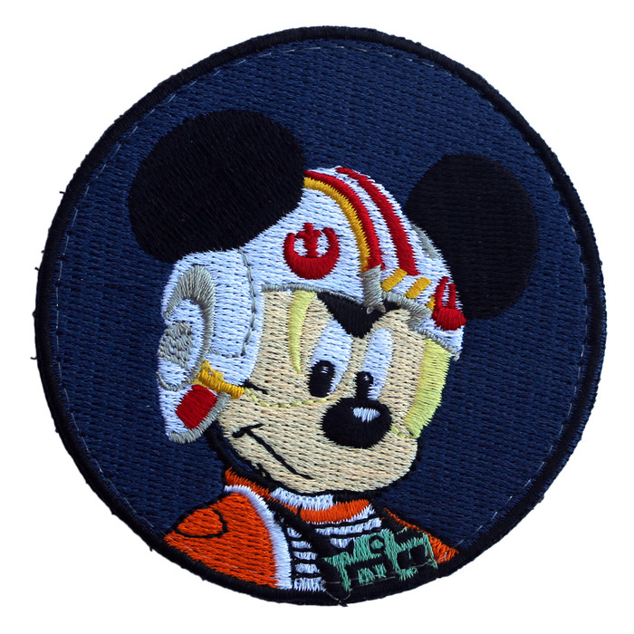 MICKEY SKYWALKER PATCH