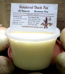 Regular or Garlic Duck Fat (two 16 oz. containers)